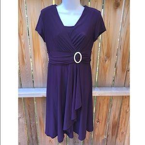 💜R&M Richards purple dress, size 6.💜